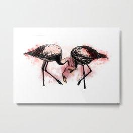 go, go, go, said the bird: human kindcannot bear very much reality Metal Print