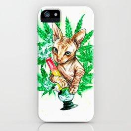 Benny Bluntz iPhone Case