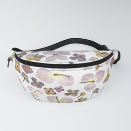 Scattered Hydrangea Fanny Pack