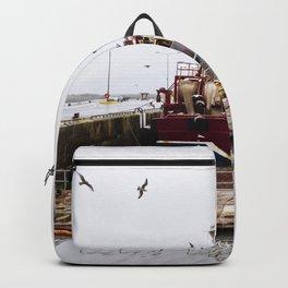 Fishing boat Backpack