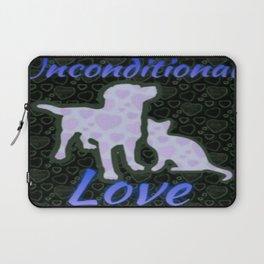 Unconditional Love Laptop Sleeve