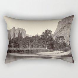 View from Camp Grove, Yosemite Rectangular Pillow