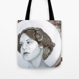 Haloed Lady For Sale!!! Tote Bag