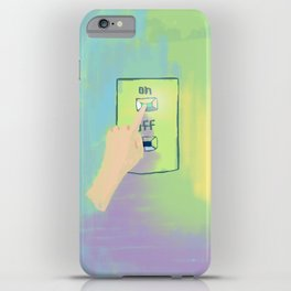 Turned On iPhone Case