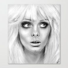 + BAMBI EYES + Canvas Print