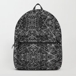 Ethnic Ornate Print Pattern Backpack