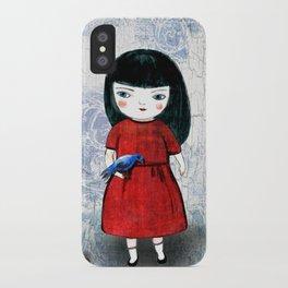 Blanca Bird iPhone Case