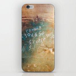 Shabby Wall iPhone Skin