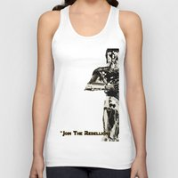 c3po Tank Tops featuring C3PO by KL Design Solutions