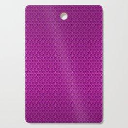 Metallic Neon PInk Graphite Honeycomb Carbon Fiber Cutting Board