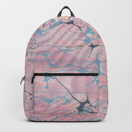 Pastel Marble Abstract Sea Backpack