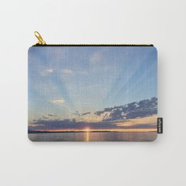 A Seattle Sunset Carry-All Pouch