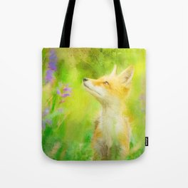 Enchanted Fox Tote Bag