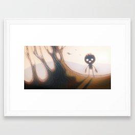 Babe in the Woods Framed Art Print