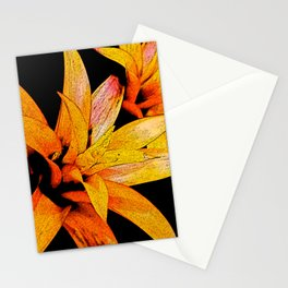 Yellow Bloom Stationery Cards