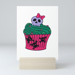 cutie pie cupcake Mini Art Print