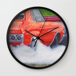 Feel The Burn...Out! Wall Clock