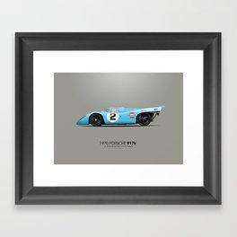 1970 Porsche 917K - Daytona Winner Framed Art Print