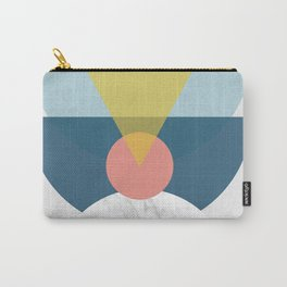 Mid Century half circles Carry-All Pouch