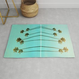Palm Reflections Rug