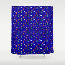 """""""The Little Prince"""" Pattern Shower Curtain"""