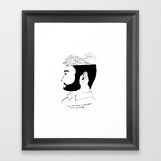 There aren't enough words Framed Art Print