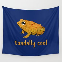 Toadally Cool Psychedelic Toad Wall Tapestry