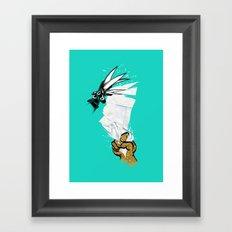 THE(childhood)GAME Framed Art Print