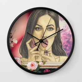 I´m a God (round edition) Wall Clock