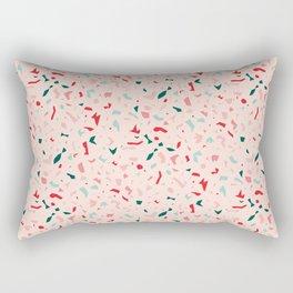 Terrazzo Pattern Design Rectangular Pillow