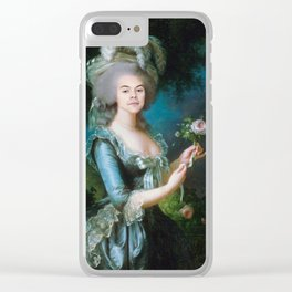 Queen Harry Styles Clear iPhone Case
