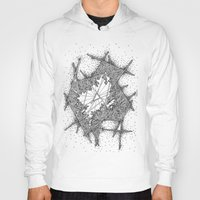fractal Hoodies featuring Fractal by Abstract Al
