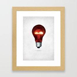 Eureka Bomb Framed Art Print