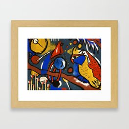 Owls in Space Framed Art Print