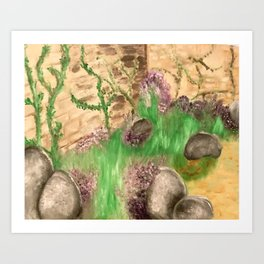 Garden Escape Art Print