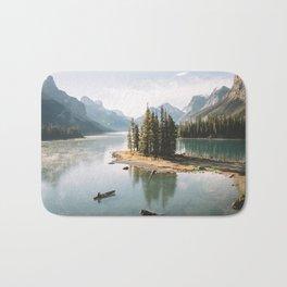 A Canadien Postcard Bath Mat