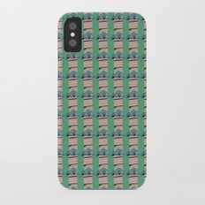Triangle Abstract ZigZag Pattern iPhone X Slim Case