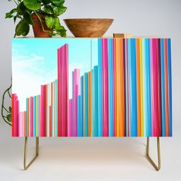 Colorful Rainbow Pipes Credenza