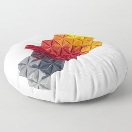 Fire to Smoke Floor Pillow