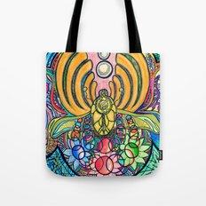 Colorstorm Tote Bag