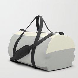 Benjamin Moore 2019 Color of Year Metropolitan, Lemon Chiffon 932 & Cinder Dark Gray 3 Bold Stripes Duffle Bag