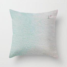 beach - summer of love II Throw Pillow
