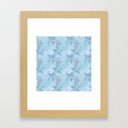 Starfish Seascape Framed Art Print