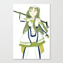 Mmmmatcha 575 tea Canvas Print