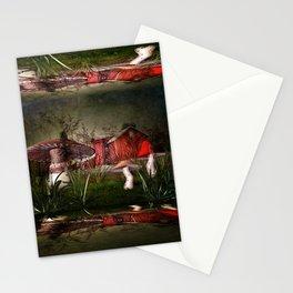 Magical Mushroom Farm Stationery Cards