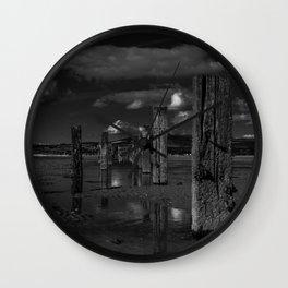 Cunnigar beach Wall Clock