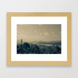 Hazey Views  Framed Art Print