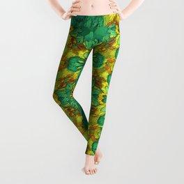 Organic Life Pattern Leggings