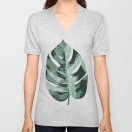 Philodendron Leaf Unisex V-Neck