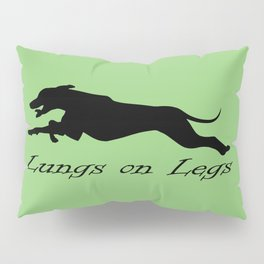 Lungs on Legs Pillow Sham